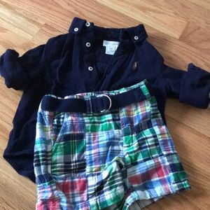 Brand NEW Ralph Lauren set- size 9 months